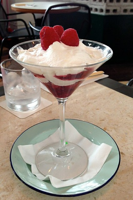 Raspberry Trifle at Suprette