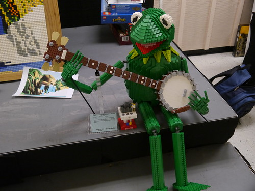 Kermit and Trophy