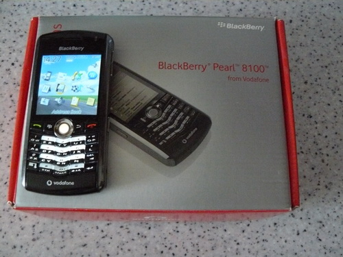 blackberry pearl 8100 manual pdf