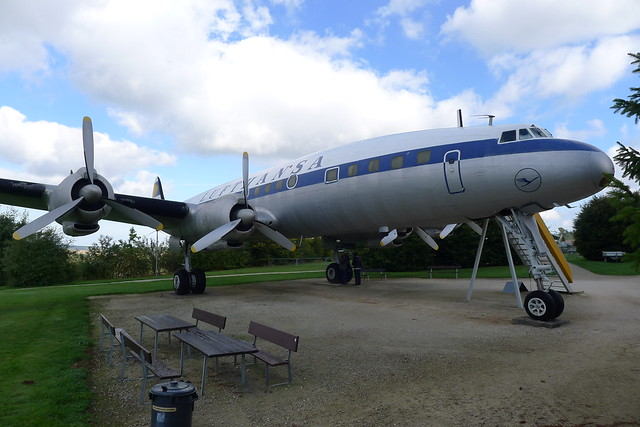 Lufthansa Lockheed L-1049G Super Constellation