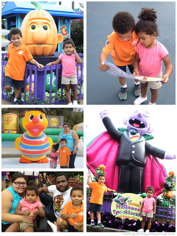 Growingupblackxican at Sesame Place Spooktacular 2012