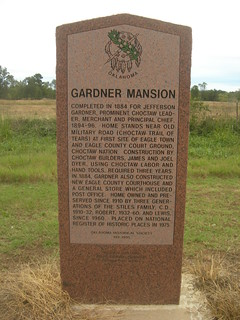 Gardner Mansion Historic Marker