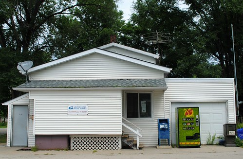 Post Office in Sextonville, Wisconsin