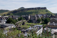 Arthur's Seat and Canongate