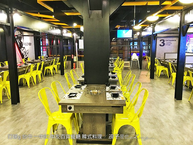 打啵g 台中 一中街 中友百貨餐廳 韓式料理 1
