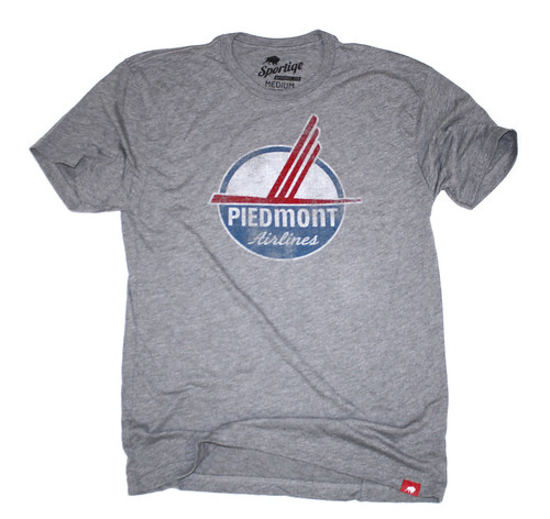 Piedmont Airlines T-Shirt By Sportiqe Apparel