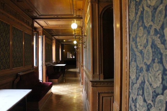 Budapest opera smoking room