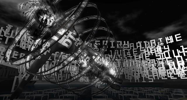LPDT3, robotic avatar, at New Genres Grid