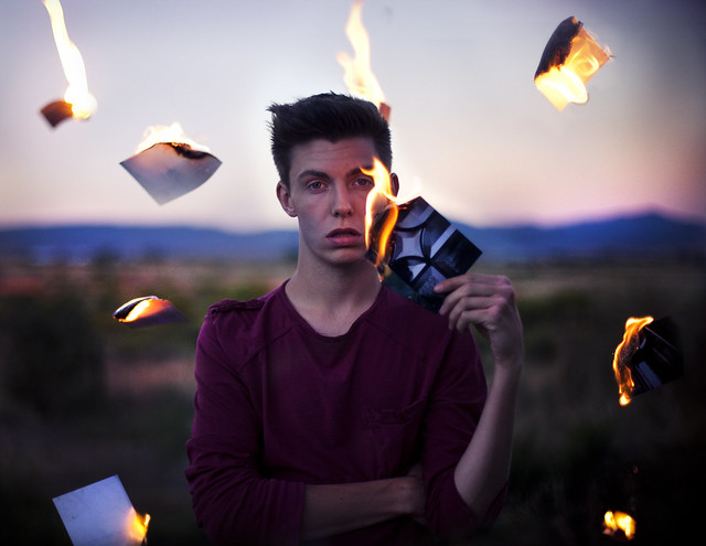 Burning These Memories - Stunning Fine Art Portraits
