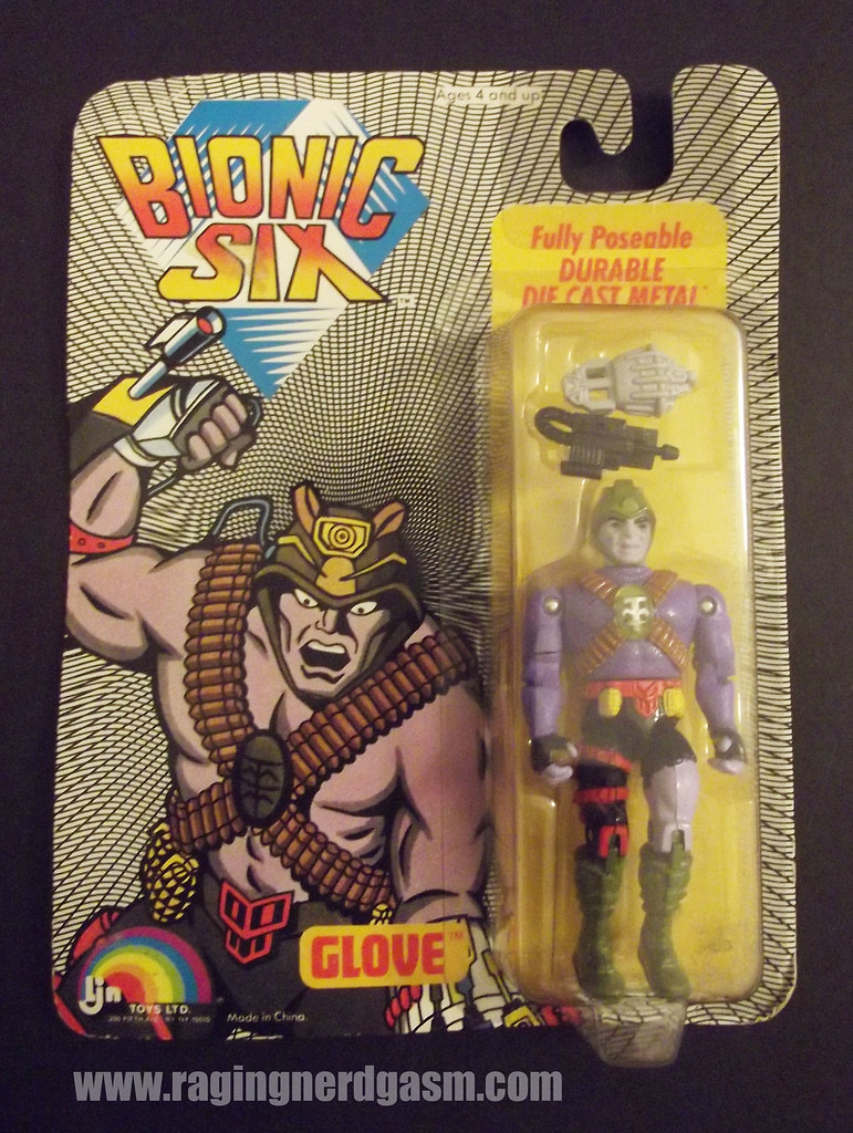 LJN Bionic 6 Figures Glove005