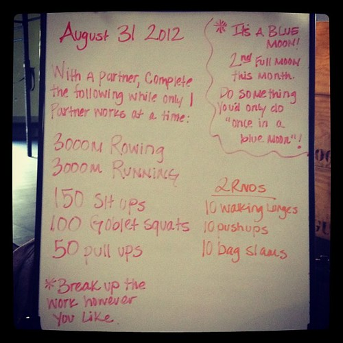 Friday Fun at 6 am. Didn't even have to work today either! #wod  #crossfit