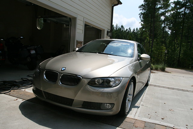 bmw coupe gold