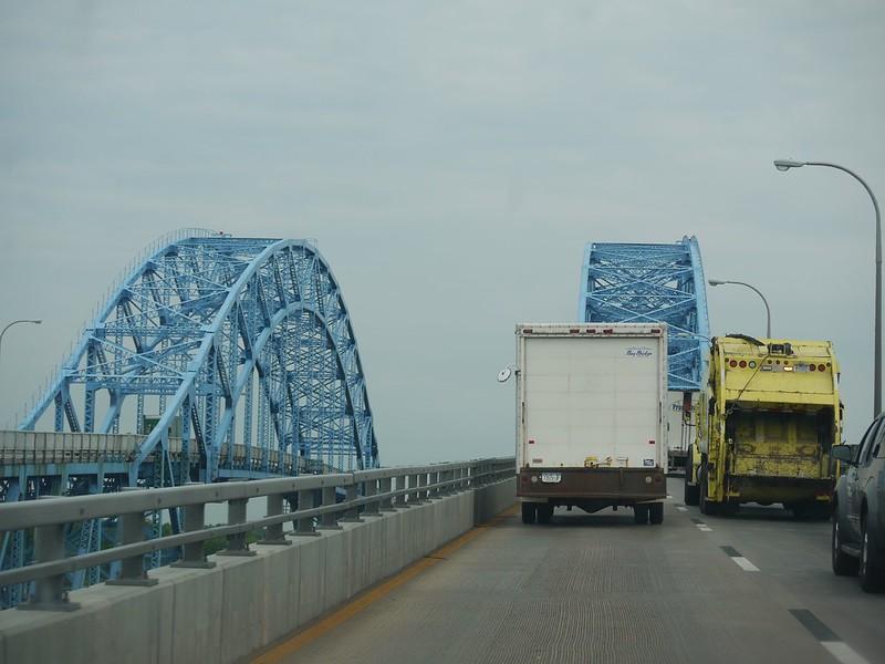 Blue bridges
