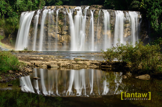 Tinuy-an Falls Reflections