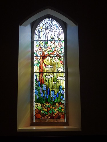 Alloway parish church seasons window