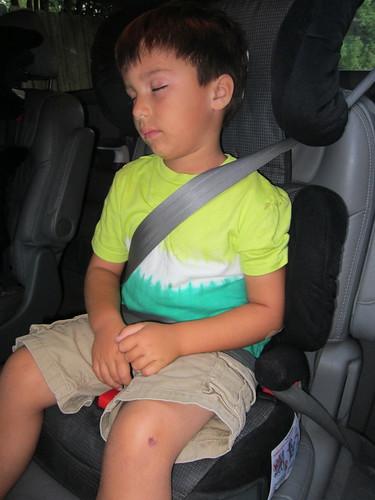 Sleepy Kindergartener