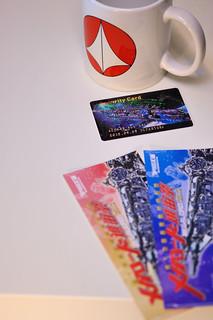 進宙祭で貰ったパスカード