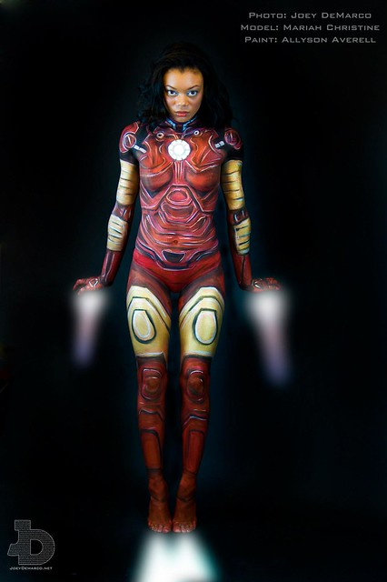 Iron Man Body Painting | Flickr - Photo Sharing!