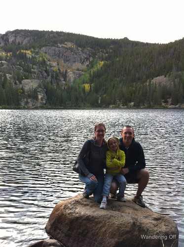 Family photo at Bear Lake.