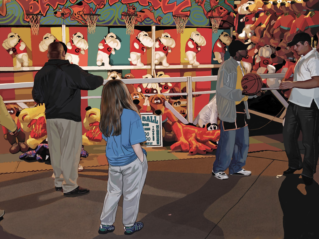 The Lure of the Prize at the Fair
