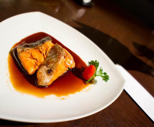 Japanese's Teriyaki grilled Japanese Salmon