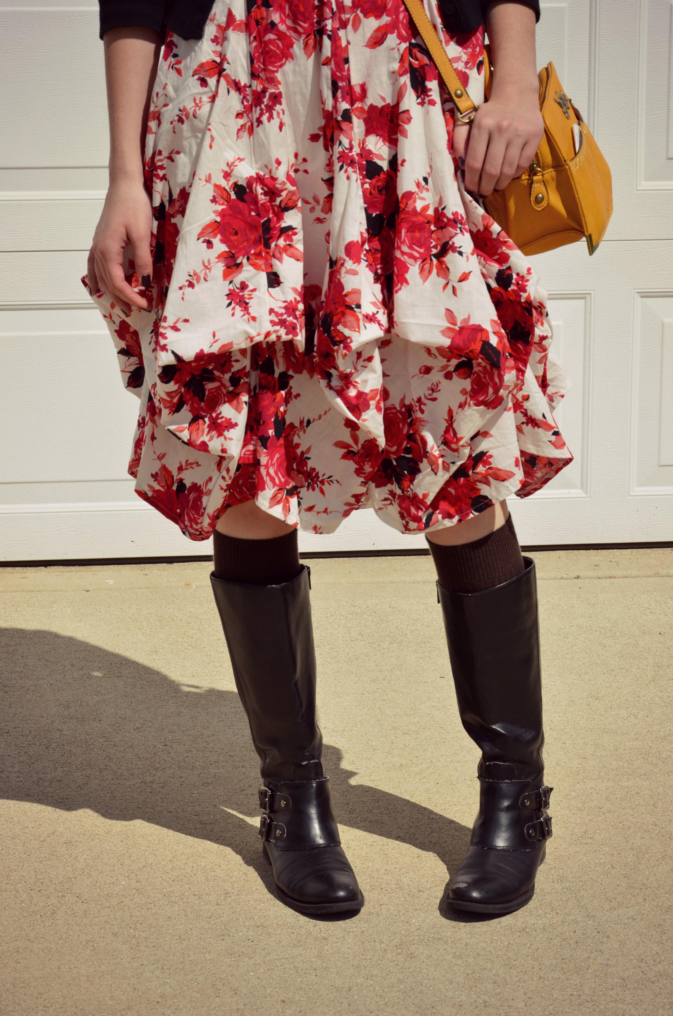 Sunday Style - ModCloth Floral Dress
