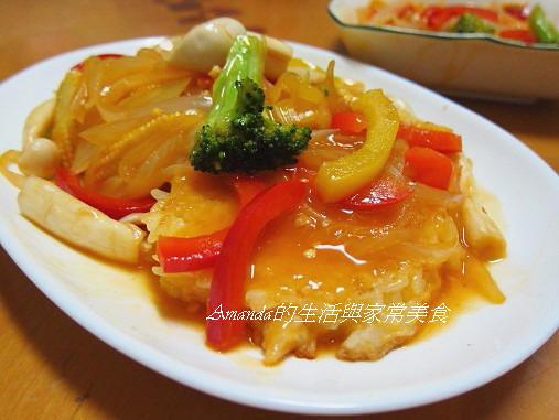 鍋巴料理 @Amanda生活美食料理