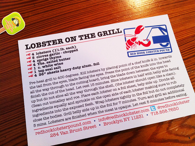 red hook lobster pound - LOBSTER ON THE GRILL RECIPE