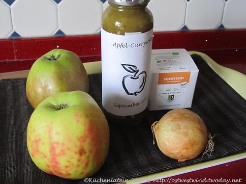 Apfel-Currysoße