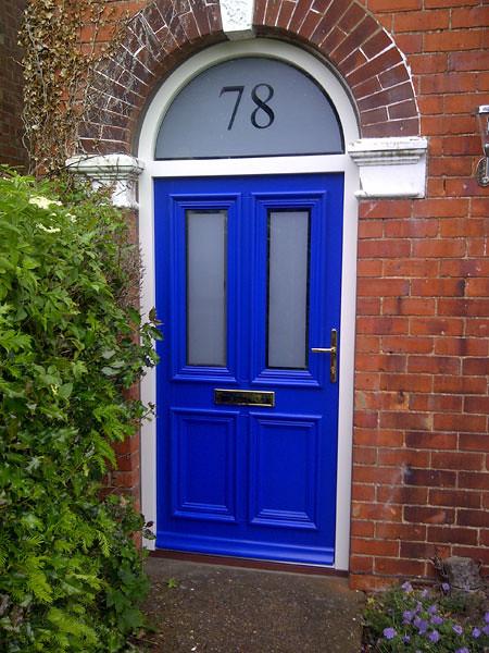 Victorian front door flickr photo sharing for Exterior wood door with screened window
