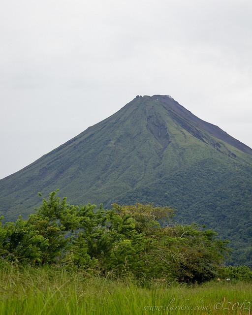 Volcàn Arenal from la Fortuna, Costa Rica, 2012
