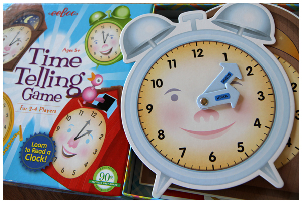 eeBoo Telling Time Game for Kids