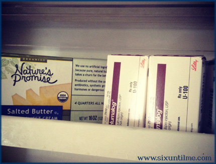 WHAT?  Is that actual BUTTER in my butter compartment?
