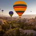 Sunrise Balloon Ride, Cappadocia, Turkey by Sean Bagshaw