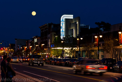 H Street NE, Washington DC - Blue Moon