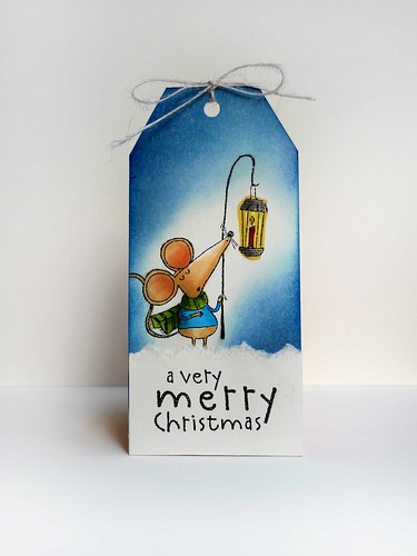 A Very Merry Christmas tag