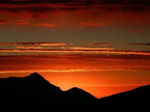 atardecer perú andes campamento cordillerablanca parquenacionalhuascarán canogastour canogas2012 osoruri