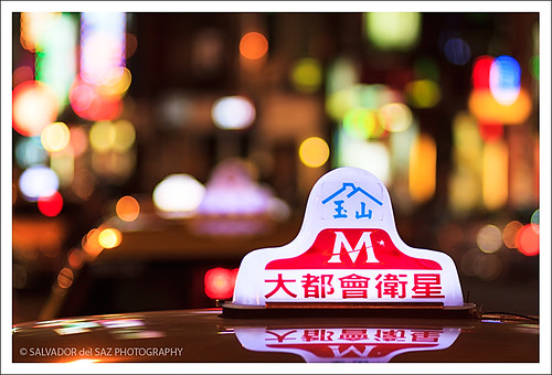 Taipei's Cabs (Take me home series): Image III.