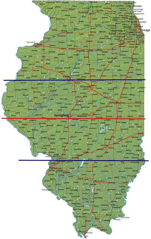 illinois divided