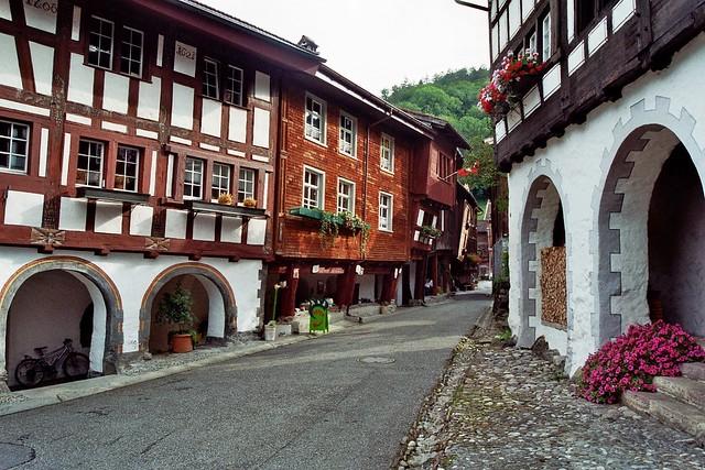 Werdenberg, commune de Grabs, canton de St Gall, Suisse.