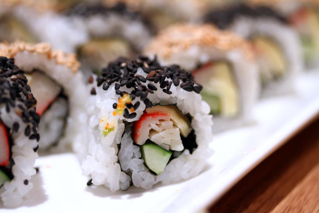 Kiseki Japanese Buffet Restaurant:  Sushi Selection