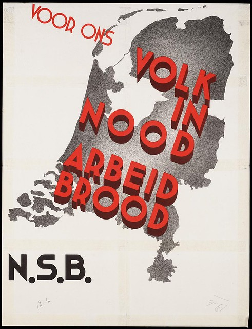 For our people in need. Labour. Bread (NSB) 1930s