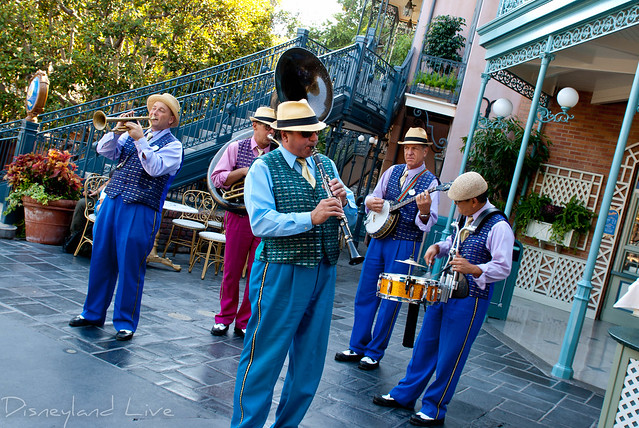 Disneyland - New Orleans Square Jazz Band