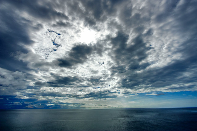 Coastal Clouds - HDR from Flickr via Wylio