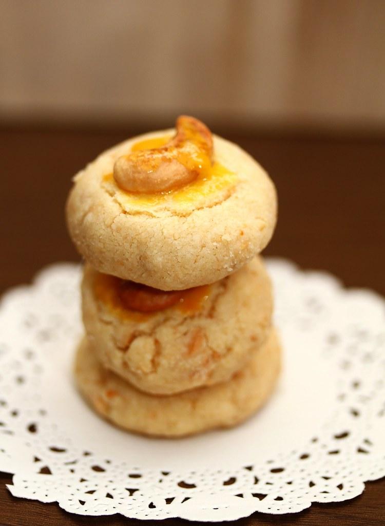 Cashew Suji Cookies