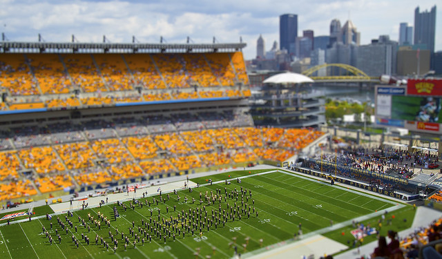 Heinz Field Tilt-Shift