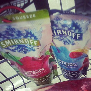 Fruity frozen alcoholic beverages + new episode of Sons of Anarchy tonight... w00t!