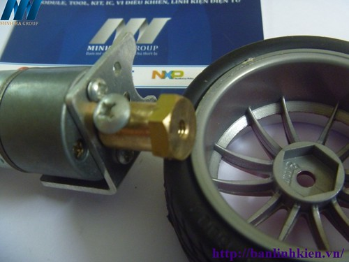 Bộ bánh xe cho Robot V2 312k 8