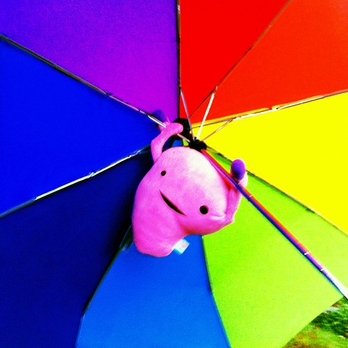 Bonus Uterus: Swinging in the rain. #uterusadventures #dailyuterus