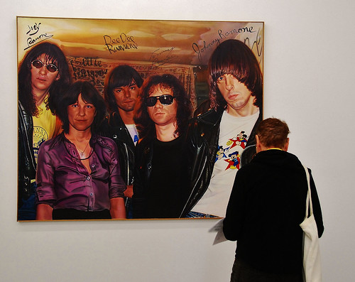 """Bettie and The Ramones"" Miller/Ringma/Hoppe (Acrylic on Canvas) Marc H. Miller"